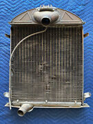 Antique 1928-1929 Ford Brass Radiator Model A