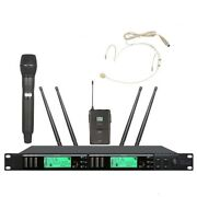 Wireless Stage Microphone Professional Handheld Headset System For Shure Mics
