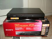 Sony Rdr-vxd655 Dvd/vcr Combo Player Vhs To Dvd Recorder Hdmi New In Box