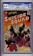 Cgc D.c Brave And The Bold 25 1st Suicide Squad Gd 2.0 Presentable