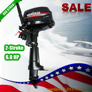 Boat 2-stroke Outboard Motor 6.0hp Boat Engine Short Shaft Cdi Water Cool System