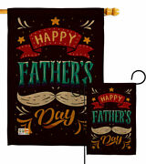 Hooray Fatherand039s Day Garden Flag Family Decorative Small Gift Yard House Banner