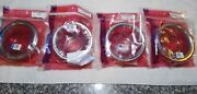 1970-1971 Camaro Early Tail Light's W/ Rs Trim. New Complete Set 4 Trim Parts