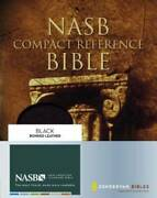 Nasb Compact Reference Bible - Leather Bound By Zondervan - Good