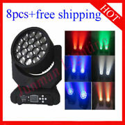 1915w Rgbw 4 In 1 Led Beam Wash Zoom Moving Head Stage Light 8pcs Free Shipping