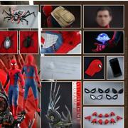 Hot Toys Qs015b 1/4 Spider-man Homecoming Deluxe Version Special Edition Bonus