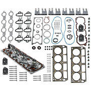 Head Gasket Set W/bolts + Lifters + Trays For Gm For Chevrolet 5.3l 2005-2014