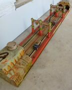 Lincoln Tunnel Tin Unique Art Lithograph Wind Up Toy Awesome Collectible