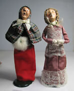 Lot Of 2 Byers Choice The Carolers 1988 And 1993