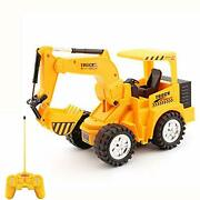 15 Channel Full Functional Remote Control Excavator Construction Tractor Toy