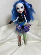2008 Monster High Doll Sweet Screams Ghoulia Yelps Lighly Used