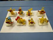 Lot Of 8 Grimmy Figurines - All Different - Mother Goose And Grimm