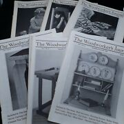 Woodworkers Journal 1983 Complete 6 Issues Furniture Woodwork Wood Shop Patterns