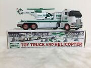 Hess 2006 Toy Truck And Helicopter Combo Holiday Gift Set Tested Works Read