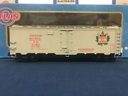 Atlas O Canadian National 211623 40and039 Steel Reefer Car 8535-2
