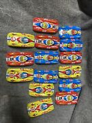 Lot Vintage Japanese Tin Penny Toy Race Car No. 37 With Ads For Esso, Stp, Hurst