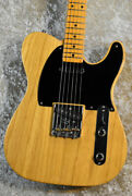 Fender American Vintage And03952 Telecaster Natural Made In The 2010s