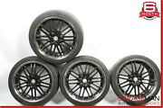 Mercedes W220 S500 S600 Cl500 Staggered Wheel Tire Rims Set Of 4 Pc R20 8.5x10