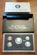 1994-s Silver Proof Set United States Mint