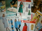 Lot Of 52 Simplicity Butterick Mccalls Sewing Patterns New Uncut