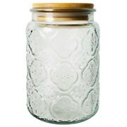 50xfood Storage Glass Jar Clear Sealed Canister Container For Loose Tea Salt