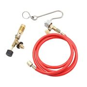 50xfor Mapp Gas Turbo Torch Plumbing Turbo Torch With Hose For Solder Propane