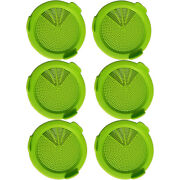50x6 Pack Sprouting Jar Strainer Lids - Wide Mouth Mason Jar Screen Sprouting