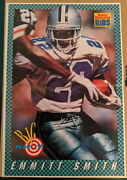 Emmitt Smith 1993 Sports Illustrated For Kids Poster 16x11 Dallas Cowboys