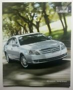 2007 Toyota Avalon Dealership Showroom Brochure - Must See - 24 Pages Long
