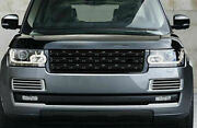Front Center Mesh Grille Grill Cover Gloss Black For Range Rover L405 2013-2017