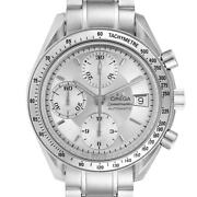 Omega Speedmaster Date Silver Dial Automatic Mens Watch 3513.30.00 Card