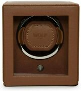 Wolf Designs Cub Single Watch Winder With Glass Cover 461127