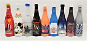 Nsda Convention Commemorative Painted Soda Bottles Ibie Interbev Lot Of 9