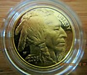 2008 United States Mint American Buffalo 1/2 Ounce Gold Proof Coin Item Bb8