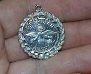 My Own Guardian Angel 999 Bullion Coin Sterling Silver Pendant Necklace Charm
