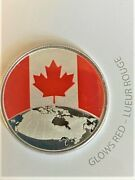This Is Canada 5 Coin -2019 Sealed Glows In The Dark