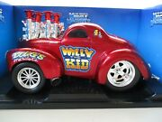 Muscle Machines - Willy The Kid Fuel Injected 1941 And03941 Willys Gasser Coupe 1/18