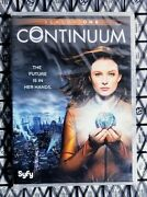 Continuum Season One Dvd 2-disks Rachel Nichols New And Factory Sealed