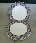 4 Culinary Institute Of America 12 1/2 Sant Andrea Maxadura Chargers Plates