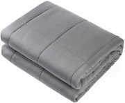 Adult Weighted Blanket Queen Size 15lbs 60x80and039 Heavy Blanket Premium Glass Bead