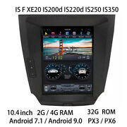 Car Multimedia Player Stereo Gps Radio Android Screen For Lexus Is F Is250 Is350