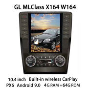 Car Multimedia Player Stereo Radio Android For Mercedes Benz Gl Ml Class X164