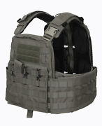 Crye Precision Cage Plate Carrier And Plate Pouch Set Einsatz Weste Ranger Green