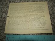 6th Infantry Division Wwii Document 218 Consecutive Days In Battle