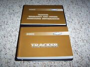 2002 Chevy Tracker Owner Operator Manual User Guide Set Hard Top Lt Zr2