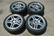 2008 Mercedes Cls63 E63 Amg Set Of 4 Wheels Rims And Tires 8.5x19 And 10x19 2 Piece