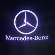 For Mercedes-benz Courtesy Door Led Logo Projector Light 2pc Welcome Light Cla