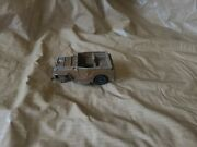 Vintage 1950s Roy Rogers Playset Diecast Metal Nellybell Jeep Figure Brown