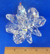 Jand039leen Extra Large Austrian Clear Crystal Suncluster Snowflake Collectible