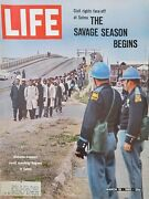 John Lewis March On Selma Martin Luther King Life Magazine March 19 1965 - Vg